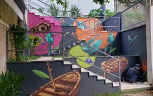 A arte urbana invade as moradas