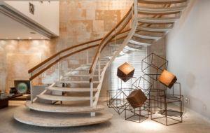 Tipos de escadas: reta, em 'L', 'U', circular, caracol