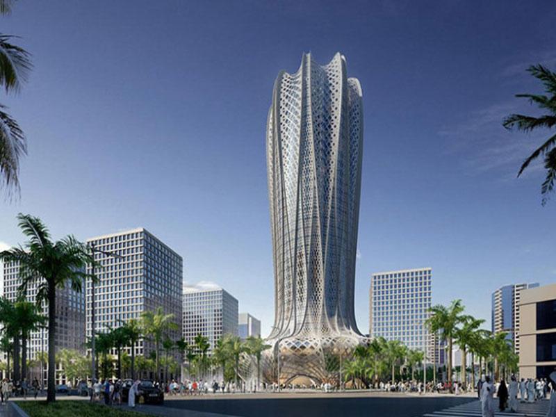 Edifício de Zaha Hadid no Catar