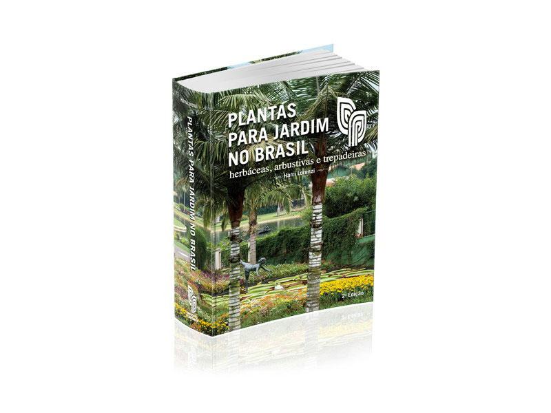 Livro Plantas Para Jardim no Brasil