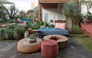 Jardim em homenagem aos chefs Janaína e Jefferson Rueda traz espécies tropicais, pomar e horta