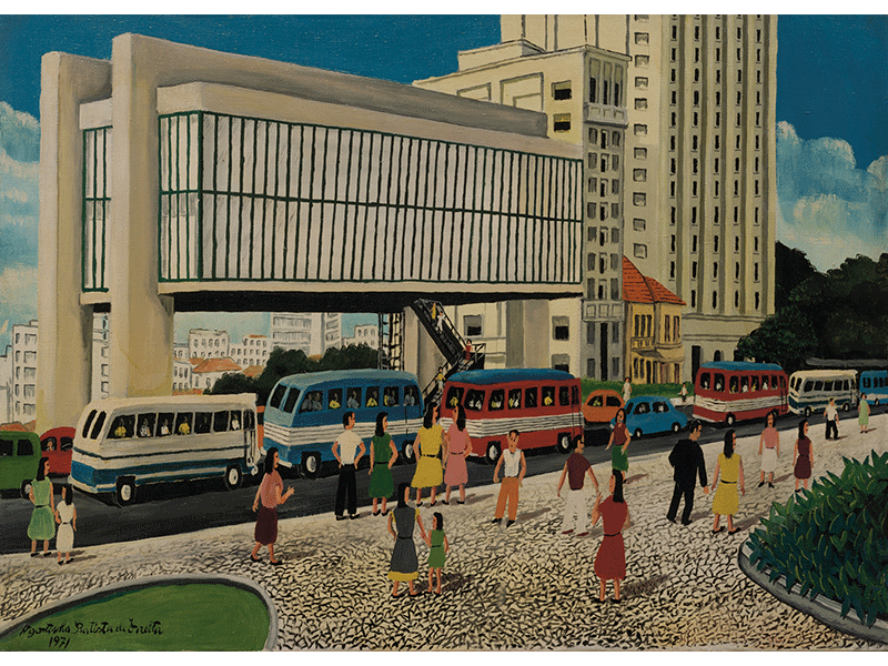 Mostra retrata arquitetura de SP