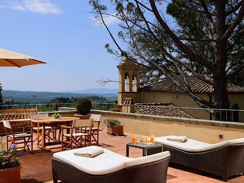 Hotel da Toscana no top 15 internacional