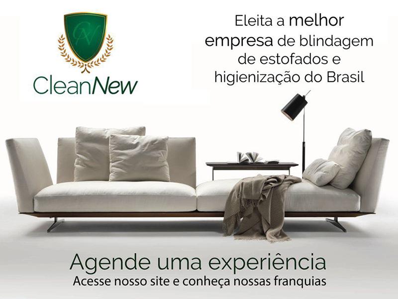 CleanNew Oferece Novo Conceito em Impermeabilização de higienização de Estofados