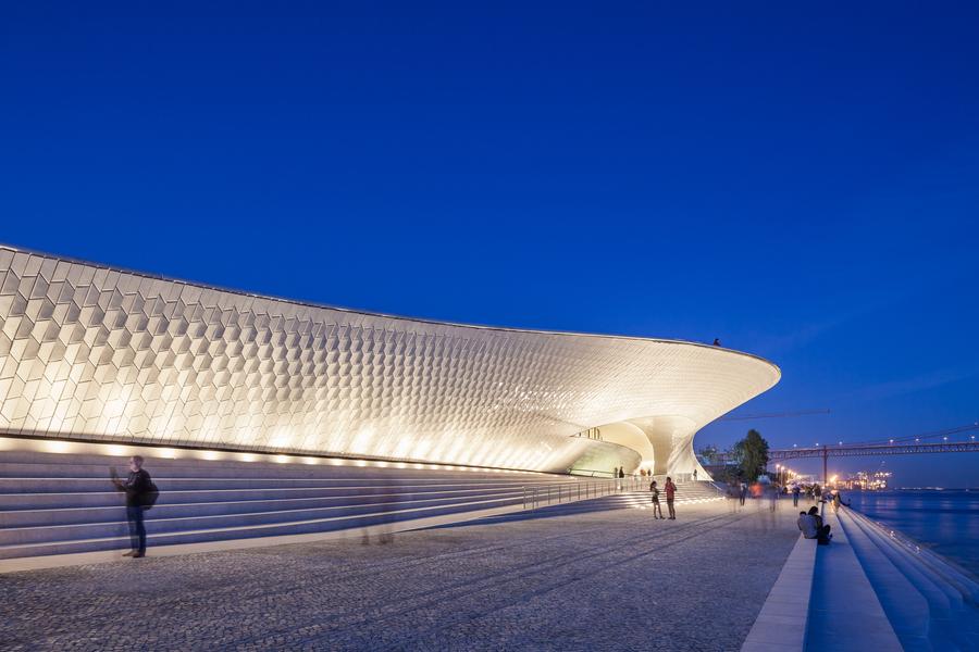 Tradições portuguesas inspiraram arquitetura do Maat - Museum of Art, Architecture and Technology