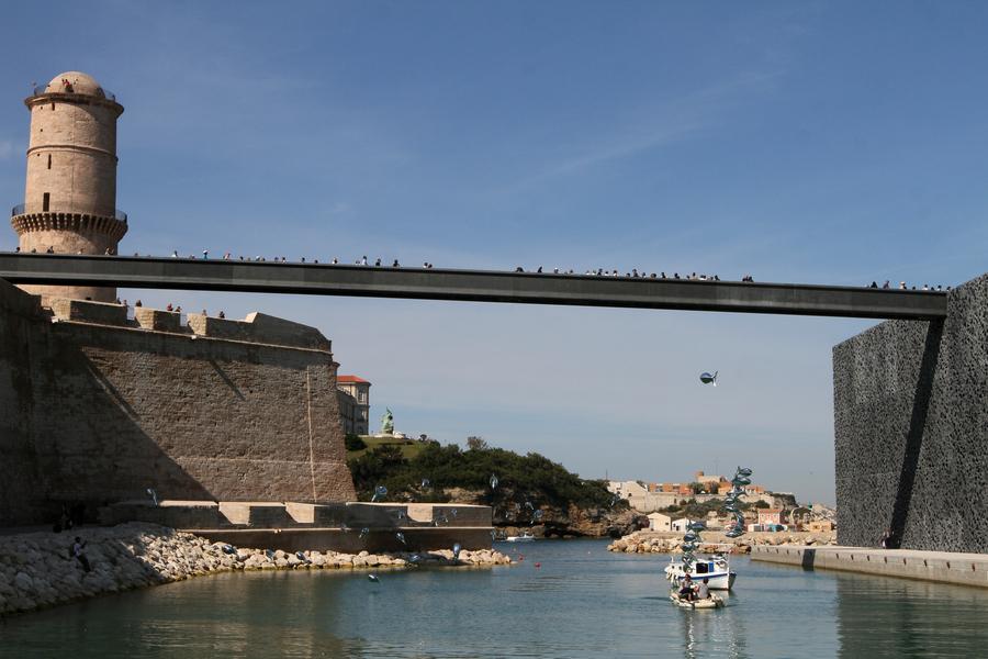 O Museu MuCEM, no sul da França, é dedicado à cultura mediterrânea