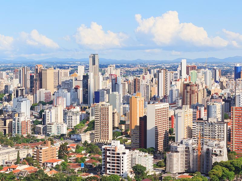 Curitiba entre as mais limpas do mundo