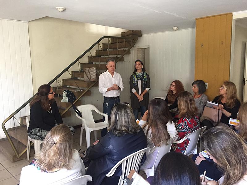DA  reúne profissionais do projeto DA Do Bem na Associação Maria Helen Drexel