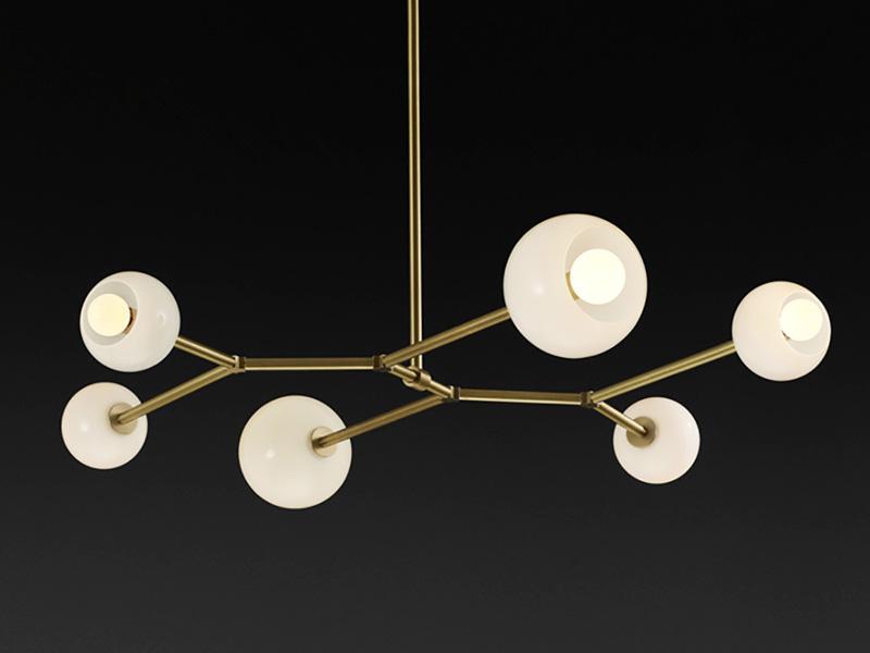 Novas coleções do Lightmaker Studio exploram latão e vidro soprado