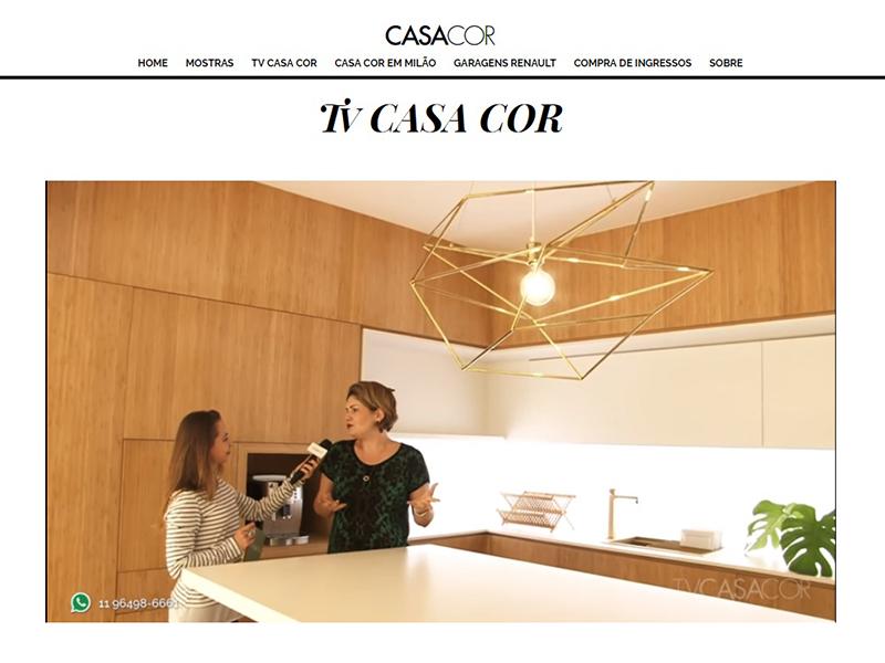 TV Casa Cor SP todos os dias no Diário do Arquiteto