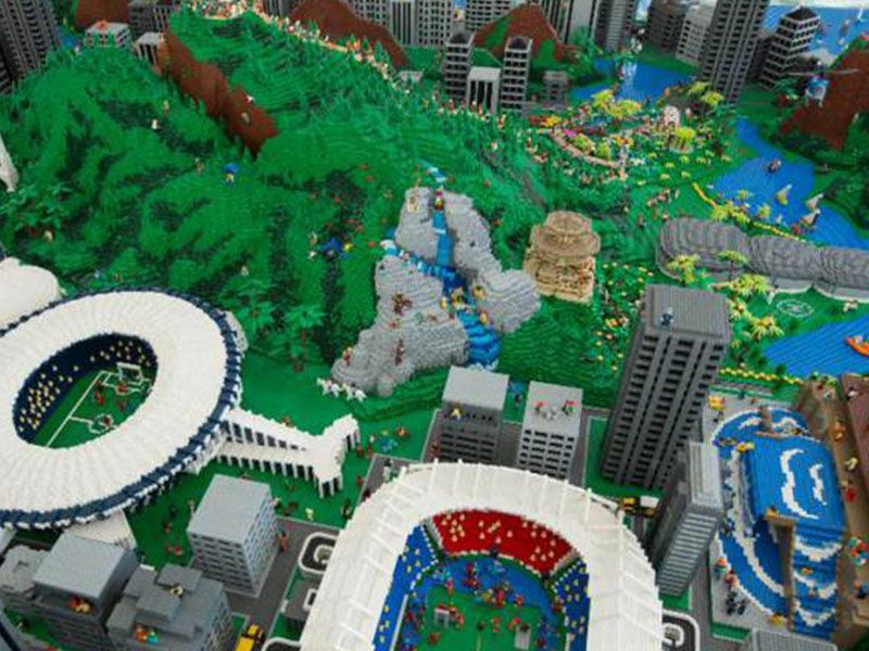 Lego homenageia Rio de Janeiro
