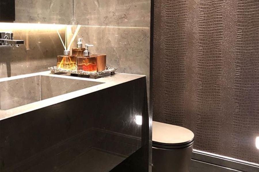 Ideias para compor os lavabos