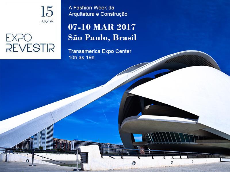 Expo Revestir 2017 traz novidades e coleções especiais