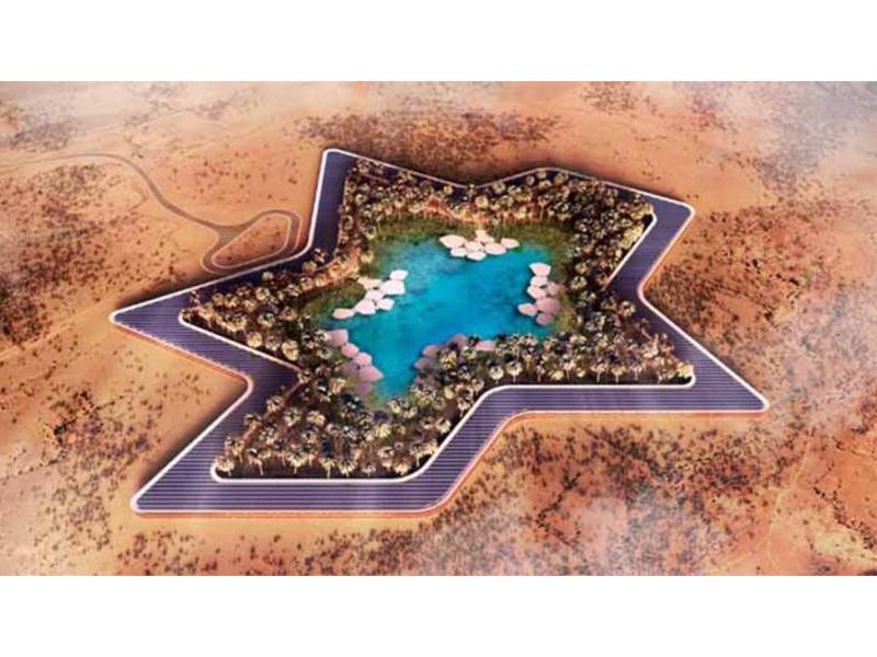 Resort mais verde do mundo será no deserto