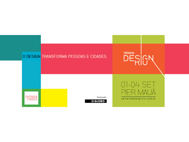 Semana Design Rio promove atividades gratuitas