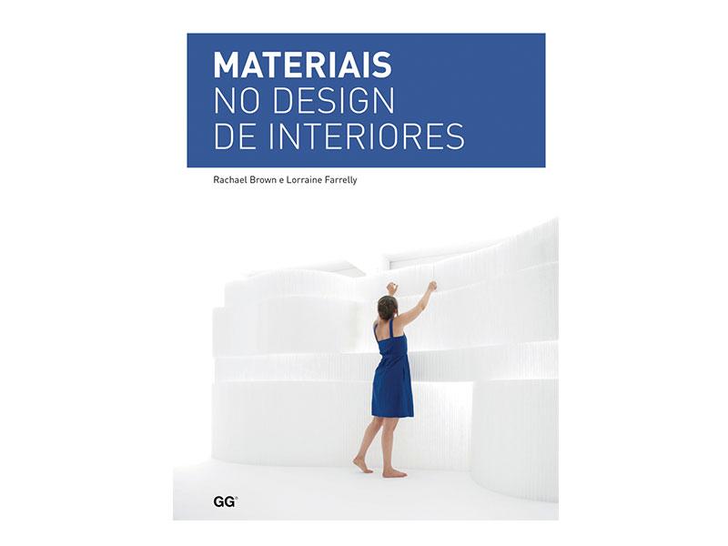 Livro Materiais no design de interiores