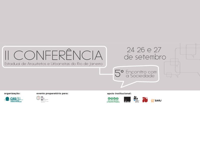 Rio de Janeiro sedia Conferência de Arquitetos