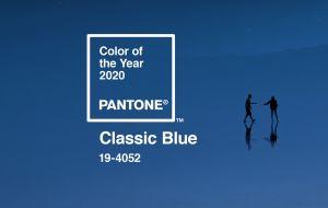 O azul clássico é tendência no décor